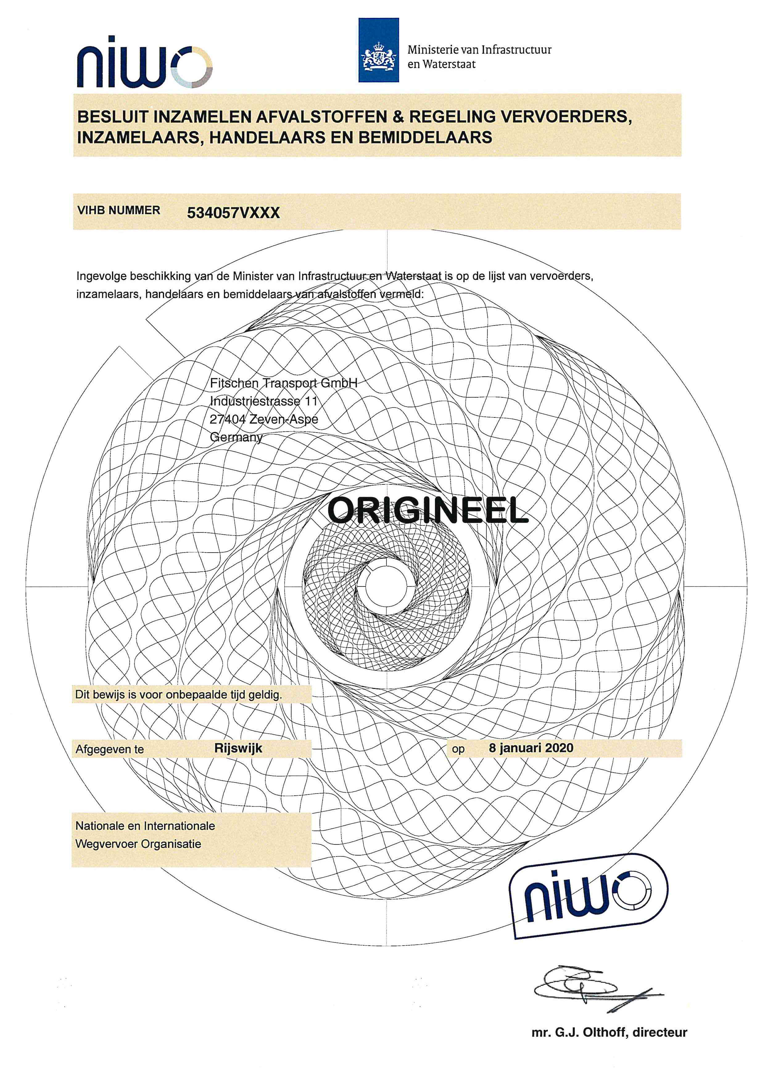 NIWO Fitschen Transport GmbH